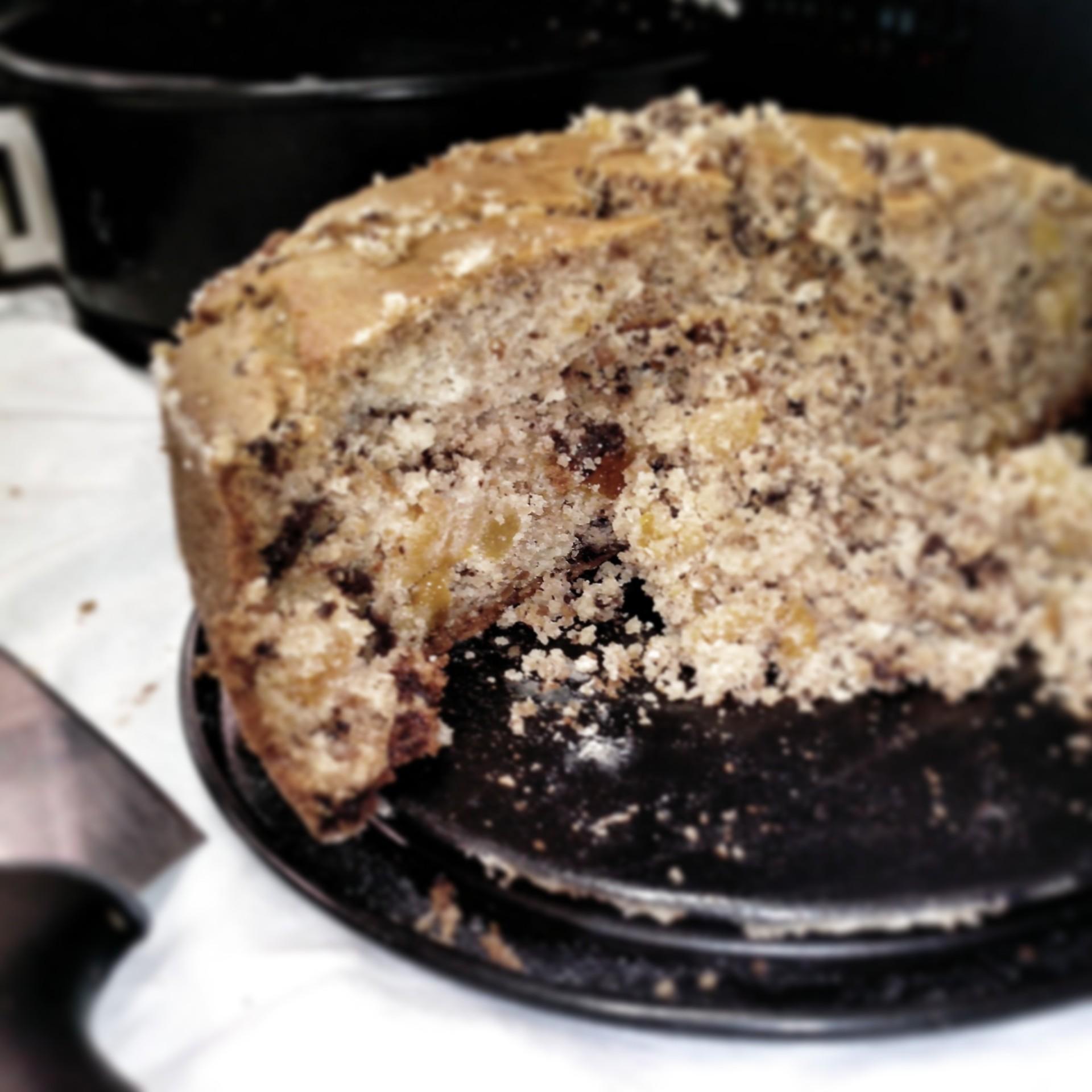 torta di albicocche e cioccolato senza glutine