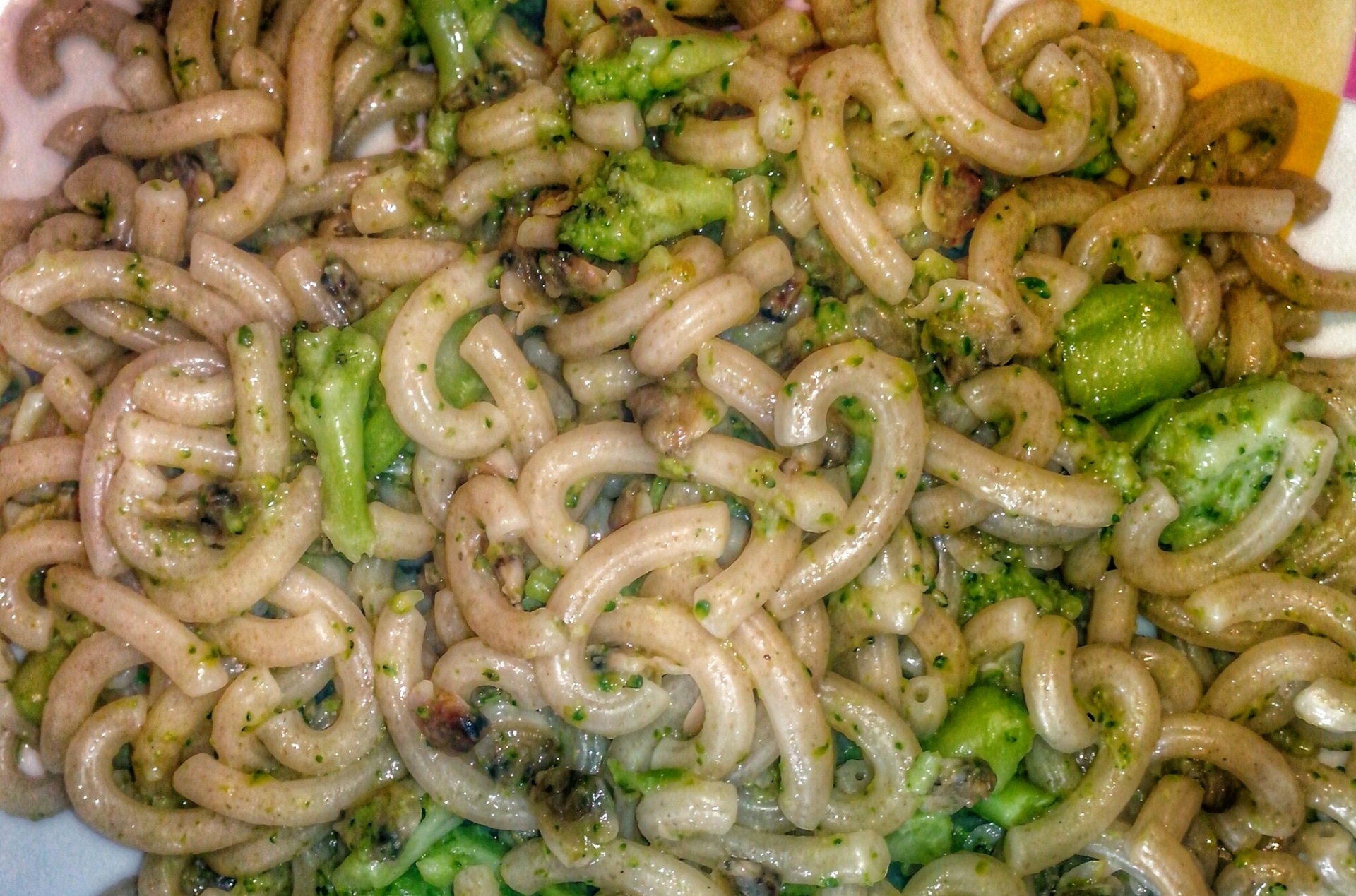 gramigna con broccoli