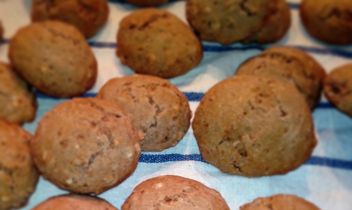 biscotti speziati di Natale, vegani